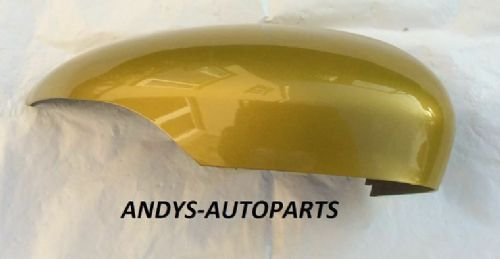 FORD FIESTA 08 ONWARDS MK7 GENUINE WING MIRROR COVER LH OR RH SIDE IN MUSTARD OLIVE
